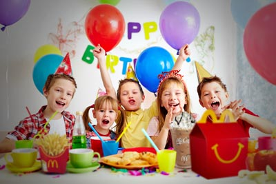 My Mcdonalds Party Party At Our House